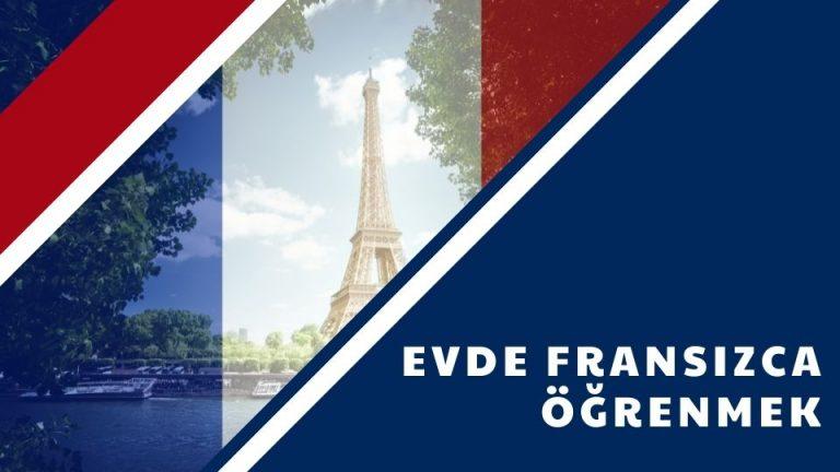 Evde Fransızca Öğrenmek