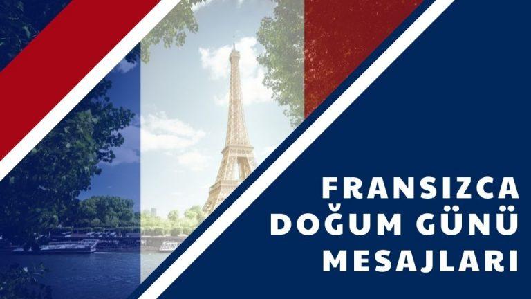 Fransızca Doğum Günü Mesajları
