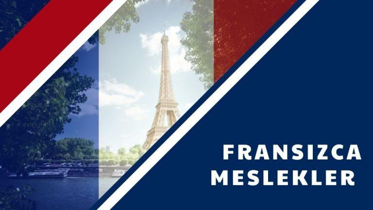 Fransızca Meslekler